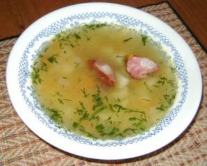 Гороховый суп с копчеными ребрышками в мультиварке - фото шаг 4