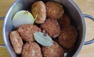 Тефтели из свинины с рисом - фото шаг 4