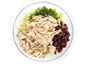 Салат с капустой - фото шаг 3
