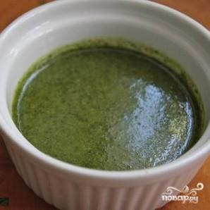 Суп из сквоша и чечевицы с кориандровым маслом - фото шаг 5