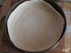 Слоеный пирог с яблоками из готового теста - фото шаг 6