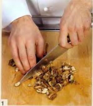 Тельное с грибами - фото шаг 1