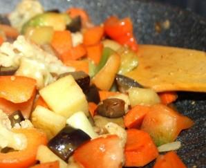 Вегетарианское карри - фото шаг 5