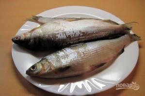 Пелядь (рыба) в духовке - фото шаг 1
