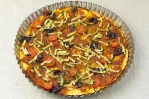 Пицца с овощами - фото шаг 14
