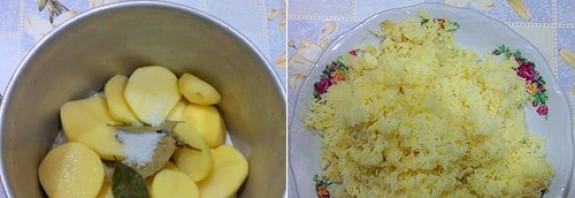 Картофельные зразы с сосиской - фото шаг 1