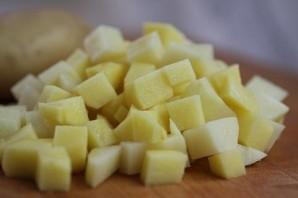 Литовский грибной суп в хлебе - фото шаг 1