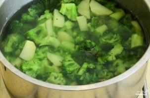 Крем-суп из брокколи диетический - фото шаг 3