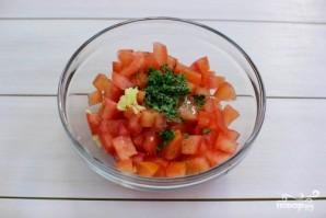 Филе тилапии, запеченное с овощами  - фото шаг 2