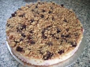 Творожный пирог с черной смородиной - фото шаг 3