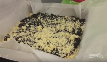 Домашний тёртый пирог с черникой - фото шаг 6