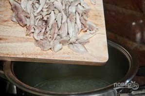 Суп с куриными ножками - фото шаг 7