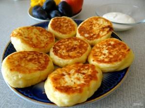 Сырники с грушей и яблоком - фото шаг 5