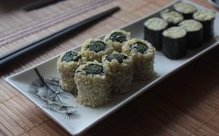 Cыроедческие суши - фото шаг 6