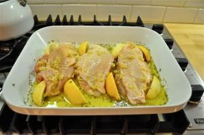 Курица в лимонном соке - фото шаг 4