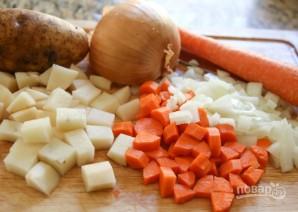 Молочный суп с овощами - фото шаг 1