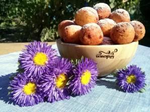 Пончики из творога - фото шаг 6