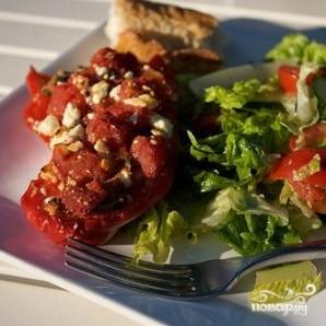 Фаршированные болгарские перцы в греческом стиле - фото шаг 4