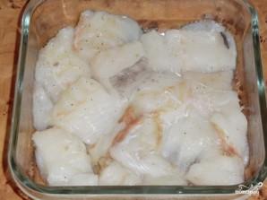 Макрурус, запеченная в духовке - фото шаг 1