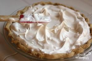 Ананасовый пирог с безе - фото шаг 5