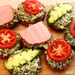 Летние бутерброды - фото шаг 7