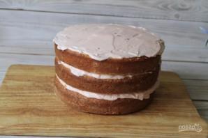 Торт на День Рождения своими руками - фото шаг 11
