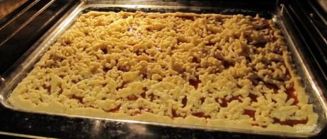 Рецепт кудрявого пирога с вареньем - фото шаг 14