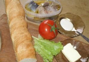 Бутерброды открытые - фото шаг 1