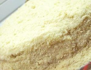Торт на сковороде с заварным кремом - фото шаг 15