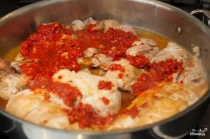 Куриное филе в чесночном соусе - фото шаг 5