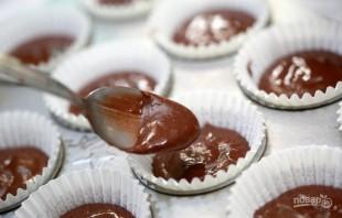 Очень шоколадные кексы - фото шаг 4