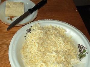 Простой хачапури с сыром в духовке - фото шаг 2
