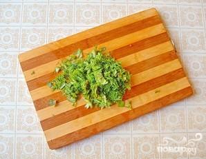 Салат с кольраби и корнем петрушки - фото шаг 5