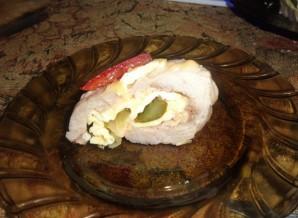 Рулет из свинины в духовке - фото шаг 10