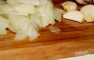 Рисовая лапша с лососем и брокколи - фото шаг 1