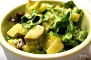 Салат с соленьями - фото шаг 5