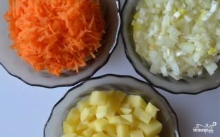 Сырный суп с морепродуктами - фото шаг 2