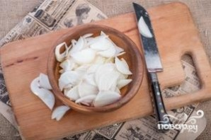 Мясо по-французски с соусом бешамель - фото шаг 2
