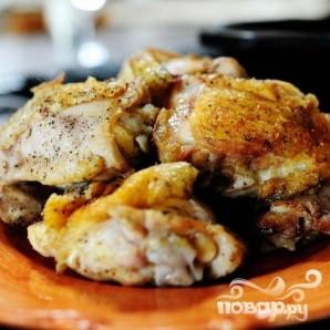 Паста Пенне с курицей и соусом Маринара - фото шаг 2
