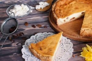 Простой творожный пирог (запеканка) - фото шаг 4