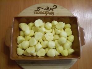 Картофель кусочками в духовке - фото шаг 4