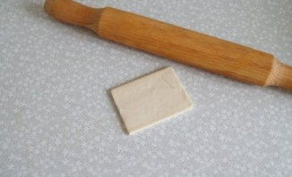 Слоеное тесто с яблоками - фото шаг 3