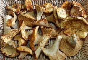 Сушка грибов в духовке - фото шаг 1