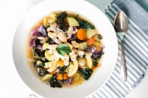 Суп из фасоли без мяса - фото шаг 4