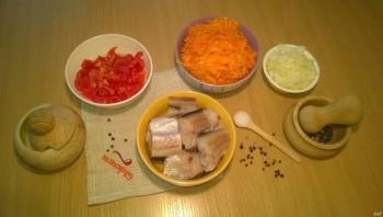 Минтай с морковью - фото шаг 1