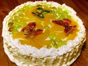 Торт на день рождения девочке 14 лет - фото шаг 5