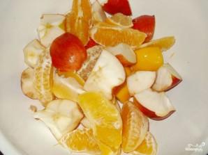 Индейка с яблоками и апельсинами - фото шаг 3