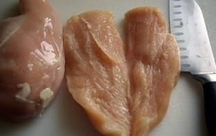 Курица в сливочном соусе - фото шаг 1