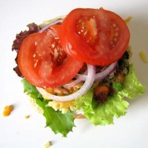 Вегетарианский бургер - фото шаг 11