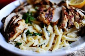 Курица гриль с сыром и макаронами - фото шаг 12